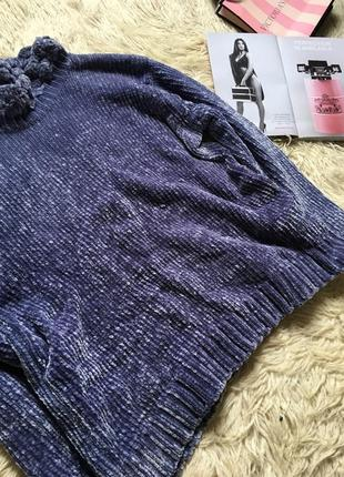 Плюшевый свитер оверсайз5 фото