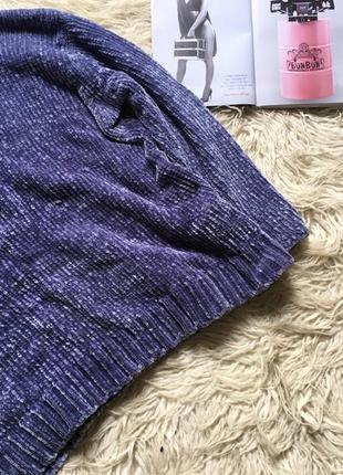 Плюшевый свитер оверсайз6 фото