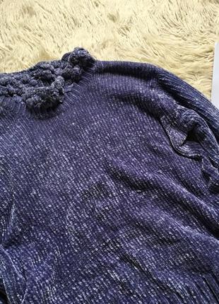 Плюшевый свитер оверсайз3 фото