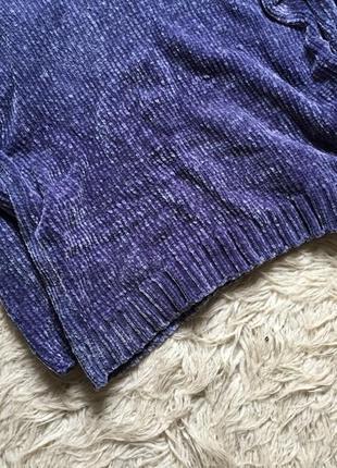 Плюшевый свитер оверсайз4 фото