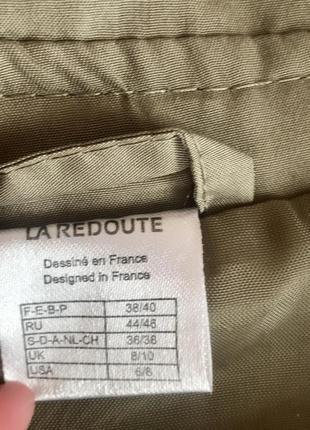 Стильний французький тренч хакі5 фото