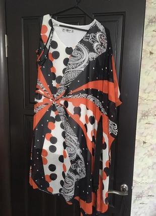 Стильное платье, креативное, вечернее, нарядноеот дизайнера
