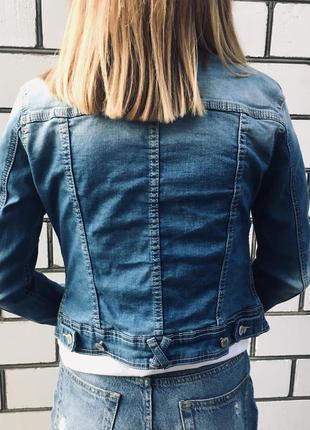 Укороченная джинсовка / джинсовая куртка3 фото