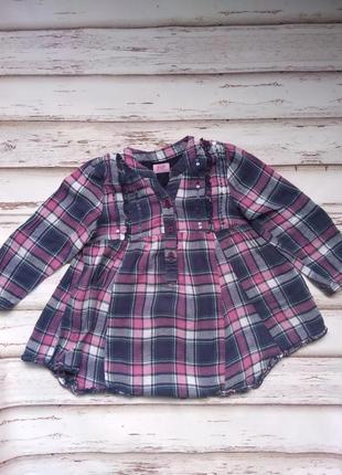 Рубашка туника 2-3 года