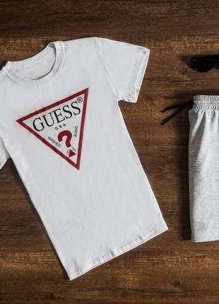Мужской летний комплект футболка и шорты