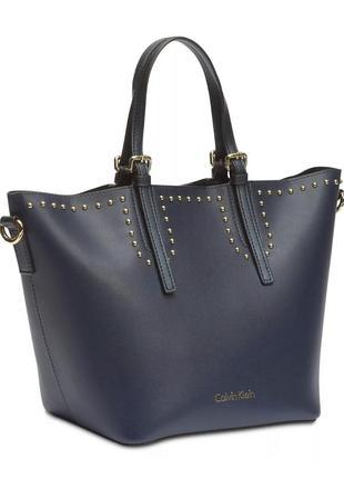 Новая женская синяя сумка кельвин кляйн calvin klein2 фото