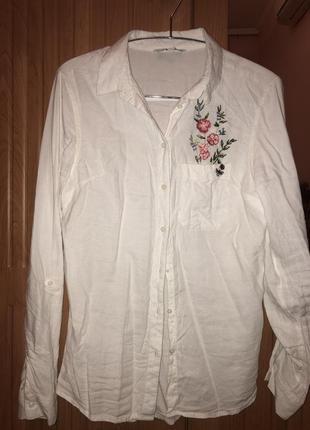 Летняя легкая рубашка