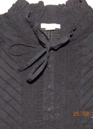 Мегастильная дизайнерская блуза tony cohen 6\8лет(116\122)