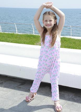 Летний комбинезон f&f на девочку 6-7 лет