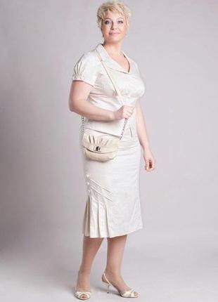 Летний женский костюм петро сорока, р.54, 52, 48