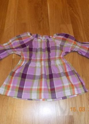 Фирменная блузка h&m р-р98.германия