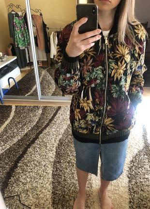 Куртка бомбер zara нова