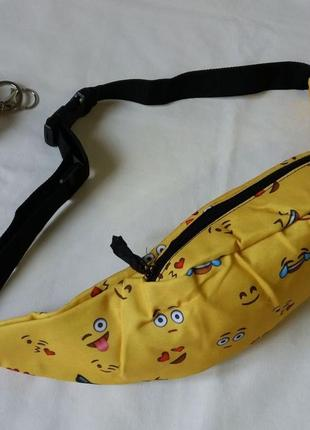 Позитивная бананка со смайликами5 фото
