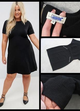 Papaya.черное платье.1 фото
