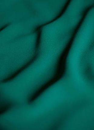 Красивая элегантная зеленая блуза george, размер 5xl7 фото