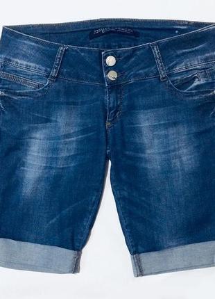 Женские шорты удлиненные посадка ниже средней1 фото