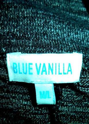 Blue vanilla платье\туника\кофта\балахон.асимметричная длина.меланж. рр м\л можно больше5 фото