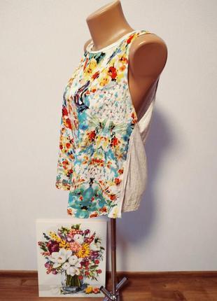 Блуза с цветами / горячая цена/ скидки!3 фото