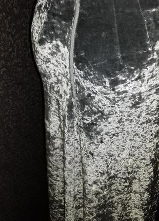 Шикарная бархатная юбка4 фото