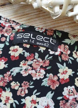 Летний цветочный ромпер комбез комбинезон с поясом5 фото