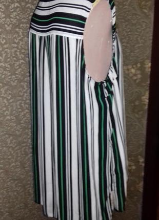 Свободная рубашка с удлиненной спинкой5 фото