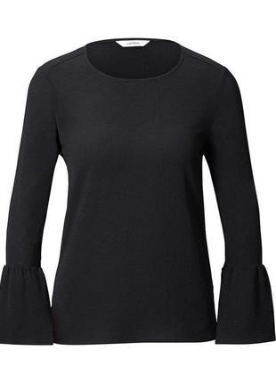 Стильная  блузка от тсм tchibo германия размер 40,42 евро4 фото