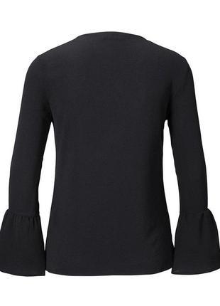 Стильная  блузка от тсм tchibo германия размер 40,42 евро3 фото