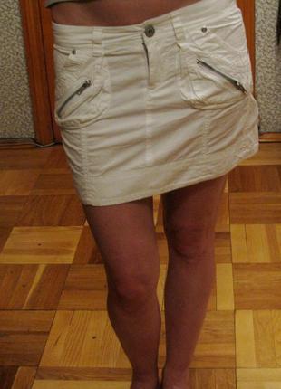 Pimkie белая юбка1 фото