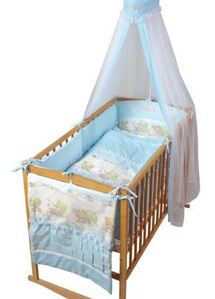 Комплект детского постельного белья тигрес, 8 элементов