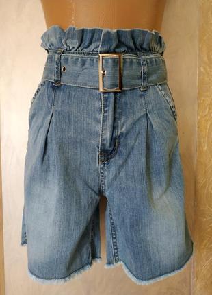 Стильные шортики джинс новинка бесплатная доставка