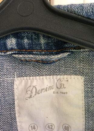 Джинсовая куртка джинсовка вареный джинс варенка 90 е оверсайз9 фото