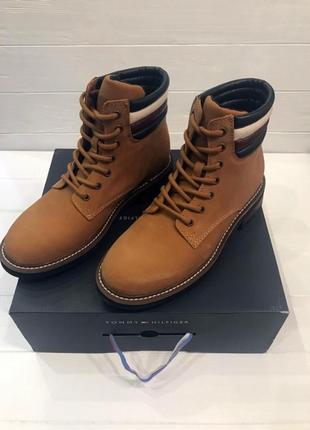 Tommy hilfiger оригинал  кожаные ботинки camden