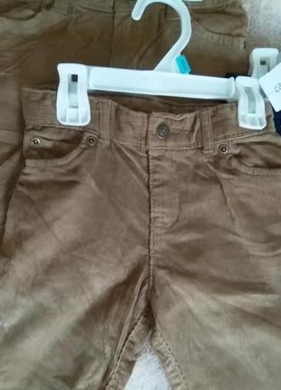 Вельветовые брюки2 фото