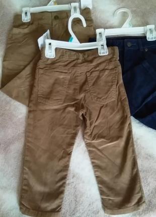 Вельветовые брюки3 фото