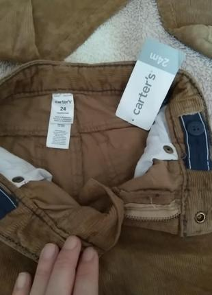 Вельветовые брюки4 фото