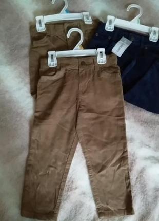 Вельветовые брюки carter's