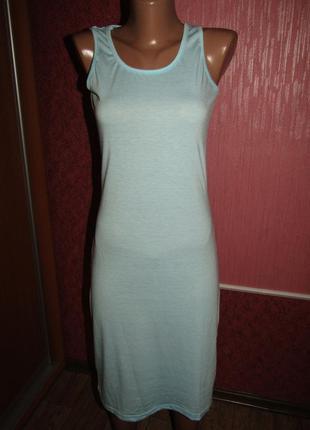 Легкое платье р-р s сост нового