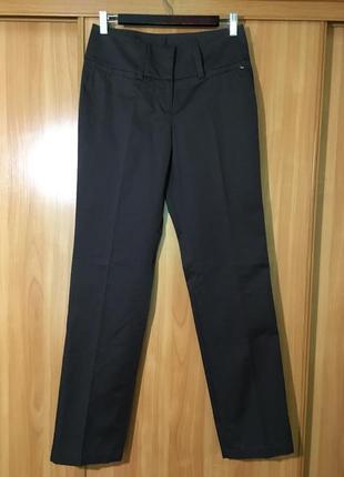 Лёгкие классические брюки,шоколад marc aurel