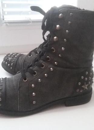 Демисезонные ботинки с шипами