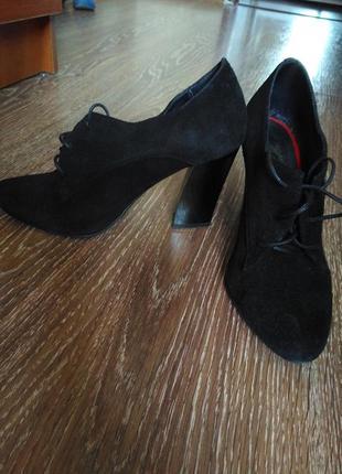 Жіночі замшеві туфлі,женские туфли.