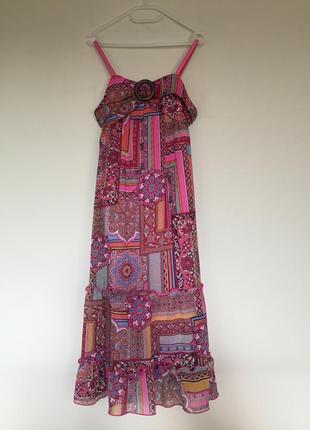 Яркое розовое подростковое платье  amy byer  американское