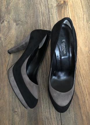 Натуральные шикарные итальянские туфли