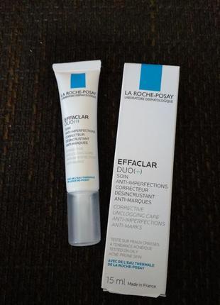 Корректирующее средство для проблемной кожи, бьем 15мл, effaclar duo+