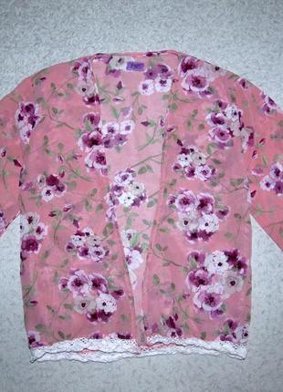 Шифоновая блузка f&f 9-10лет