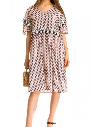 Повседневное платье итальянского бренда wiya ( италия )