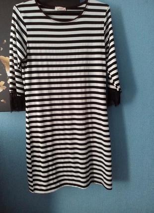 Платье/сукня в смужку
