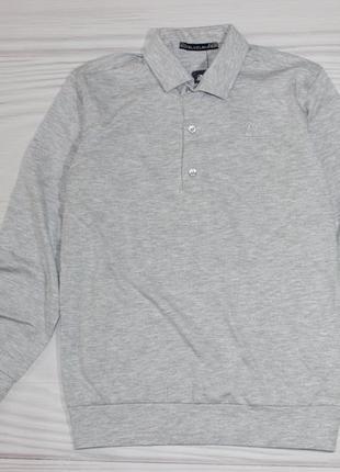 Хлопковый серый реглан джемпер, турция
