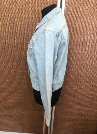 Брендовая джинсовка джинсовая куртка4 фото