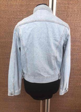 Брендовая джинсовка джинсовая куртка2 фото