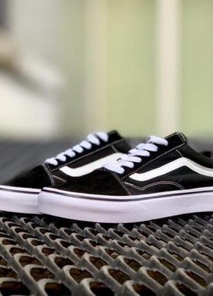 Взуття vans old skool black